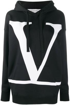 Valentino VLOGO drawstring hoodie
