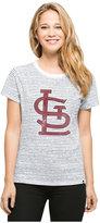 '47 Women's St. Louis Cardinals Sparkle Stripe T-Shirt