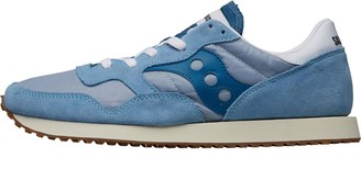 Saucony Mens DXN Vintage Trainers Blue/White