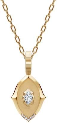 Jade Trau Maverick Medallion Necklace - Yellow Gold