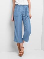 Gap TENCEL wide-leg utility crop trousers