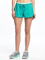 Old Navy Go-Dry Semi-Fitted Shorts for Women