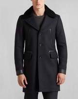 Belstaff Grovewood Coat Dark Charcoal Melange