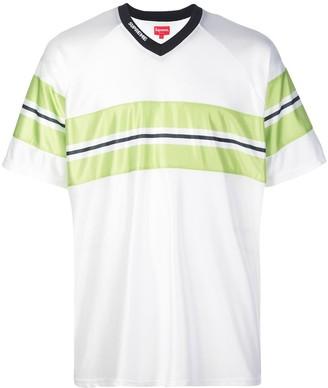 Supreme dazzle chest stripe T-shirt