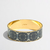 J.Crew Factory Factory printed bangle bracelet