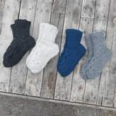 Aura Que Wool Knitted Slipper House Socks