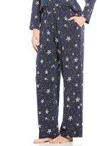 Sleep Sense Petite Starry Night Snowflake Sleep Pants