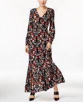 ECI Peasant Maxi Dress