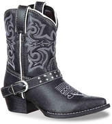 Durango Stud Belted Toddler & Youth Cowboy Boot - Girl's