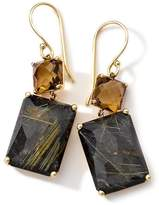 Ippolita Rock Candy 18K Yellow Gold Prong Set Double Drop Earrings