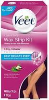 Veet Leg and Body Hair Remover Cold Wax Strips