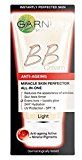 Garnier Skin Perfector Daily All-In-One Anti-Ageing B.B. Blemish Balm Cream Light 50Ml - Pack of 2