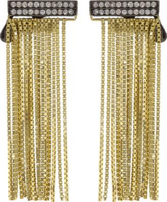 Sorellina Axl Fringe Bar Earrings