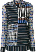 Missoni patterned hooded sweater