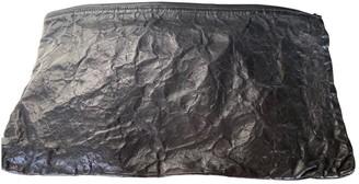 Ann Demeulemeester \N Black Leather Clutch bags