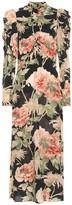Zimmermann Espionage floral stretch-silk dress