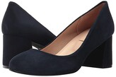 French Sole Trance (Black Suede) Women's Flat Shoes
