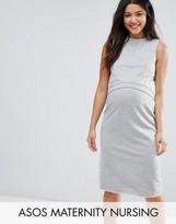 Asos Nursing Double Layer Sweat Dress