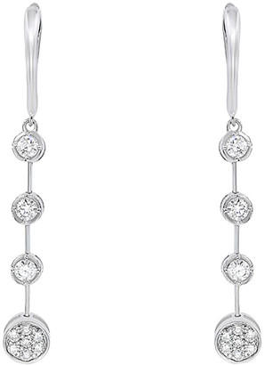 Diana M Fine Jewelry 18K 0.62 Ct. Tw. Diamond Drop Earrings