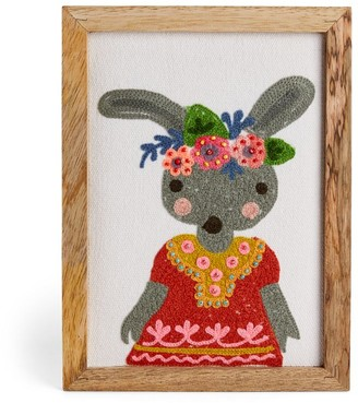 "Bonton Mila Rabbit Picture Frame (8"" x 6"")"