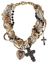 Dolce & Gabbana Multi-Strand Pendant Necklace