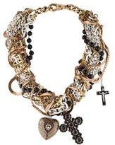 Dolce & Gabbana Multi-Strand Pendant Necklace