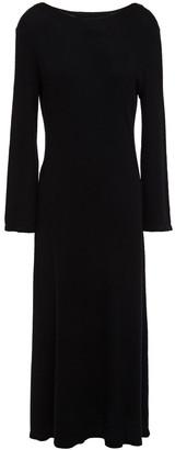 N.Peal Ribbed Cashmere Midi Dress