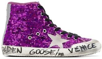 Golden Goose sequined Venice sneakers