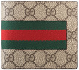 Gucci Web GG Supreme coin wallet - men - Leather/Nylon/Canvas - One Size