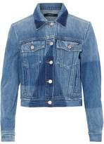 J Brand Two-Tone Denim Jacket