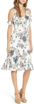 Willow & Clay Women's Print Cold Shoulder Dress