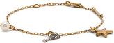 Marc Jacobs Champagne Flute Chain Bracelet