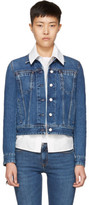 Acne Studios Blue Denim Cliff Jacket