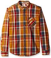 Levi's Men's Gridwood Long Sleeve Poplin Shirt