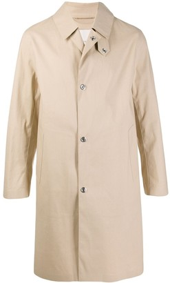 MACKINTOSH Dunkeld raw edge bonded coat