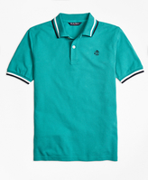 Brooks Brothers Cotton Tipped Polo