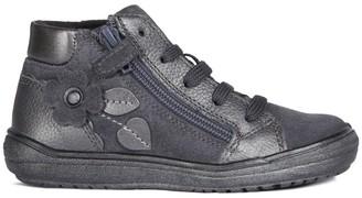 Geox Kids Hadriel Leather Boots