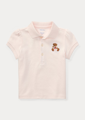 Ralph Lauren Polo Bear Cotton Polo Shirt