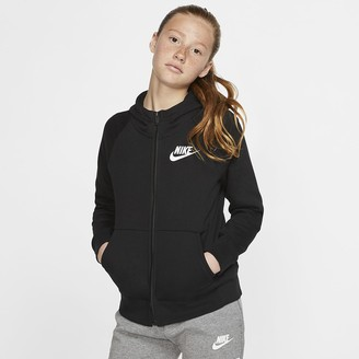 Nike Girls' Full-Zip Hoodie Sportswear