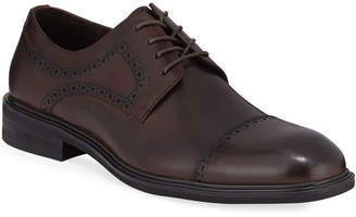 Kenneth Cole Men's Davis Brogued Leather Derby Shoes