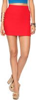 FOREVER 21 Ribbed Bandage Skirt