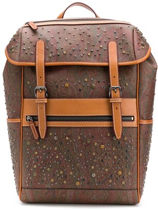 Etro Paisley Pattern Backpack