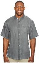 Tommy Bahama Big Tall New S/S Sea Glass Breezer Camp Shirt Men's Short Sleeve Button Up