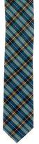 Prada Plaid Woven Tie