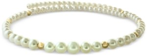 Effy Cultured Freshwater Pearl (4-9mm) & Gold Bead Flexible Choker Necklace in 14k Gold
