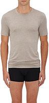 Zimmerli Men's Jersey Crewneck T-Shirt-GREY