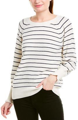 Rebecca Taylor Cozy Stripe Wool-Blend Pullover