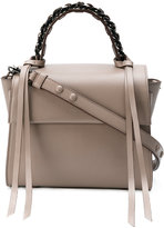 Elena Ghisellini chain tote bag - women - Calf Leather - One Size