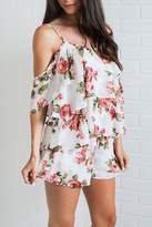 Show Me Your Mumu Floral Ruffle Top