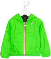 K Way Kids padded reversible wind breaker jacket